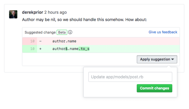 suggested-changes GitHub Rolls Out More Small Improvements as Part of Project Paper Cuts design tips