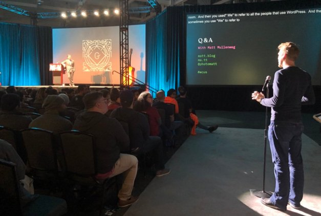 wcus2018 State of the Word 2018: WordPress Embraces the Block Editor design tips