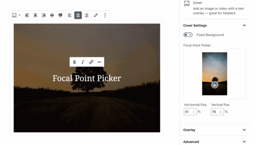 Gutenberg 5.0 Adds New RSS Block, Amazon Kindle Embed Block, and FocalPointPicker Component