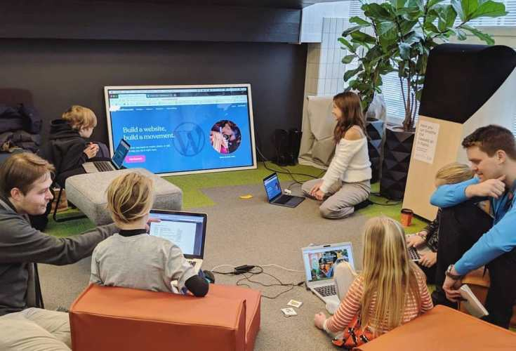 WordCamp Nordic Hosts Successful Kids Workshop