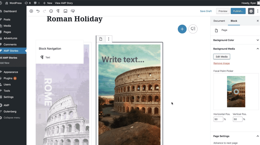 AMP Plugin for WordPress 1.1 Adds Experimental PWA Plugin Integration, Pre-release of AMP Stories Editor Available in 1.2-alpha