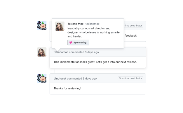native-workflow-white New GitHub Sponsors Tool Draws Concerns from Open Source Community design tips  News|github|open source