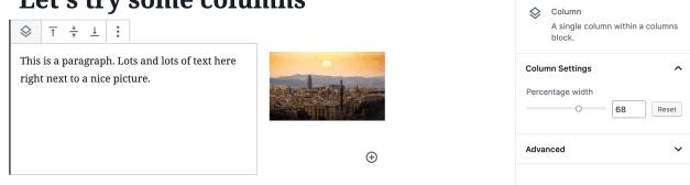 Screen-Shot-2019-06-26-at-1.07.16-PM Gutenberg 6.0 Adds Layout Picker to Columns Block design tips  News|gutenberg