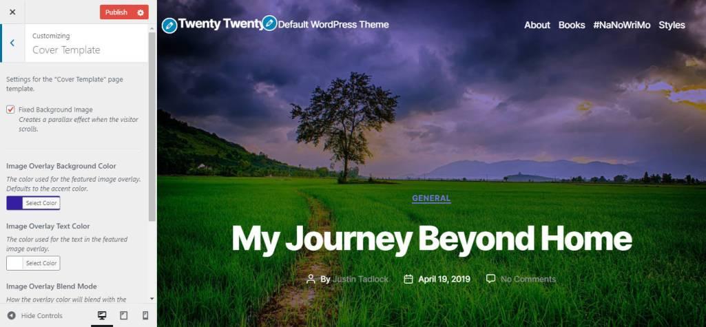 Twenty Twenty Bundled in Core, Beta Features Overview
