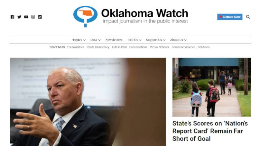 Oklahoma Watch Becomes First U.S. Publication on Newspack; 34 Pilot Newsrooms Announced for Second Round