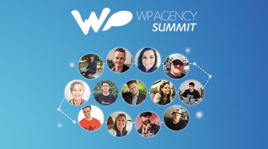 Image of several of the speakers for WP Agency Summit.