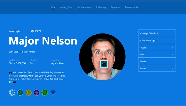 Custom Gamer Pic UI