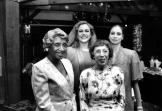 1990 Benefit_Mother Clara Hale, Kathleen Turner, Imogene Coca and Suzanne Farrell-1