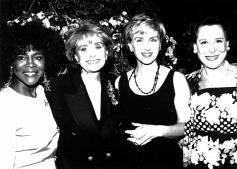 1993 Benefit_Cicely Tyson, Barbara Walters, Tina Brown, Kitty Carlisle Hart-1