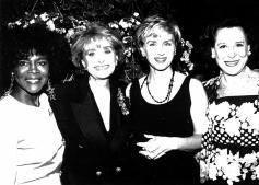 Cicely Tyson, Barbara Walters, Tina Brown, & Kitty Carlisle Hart (1993)