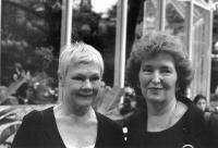Benefit 1999_Judi Dench and Julia Miles-1