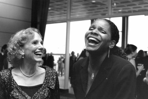 Benefit 2001_Euginia Zukerman and Audra McDonald-1