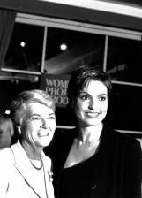 Benefit 2001_Geraldine Ferraro and Mariska Hargitay-1