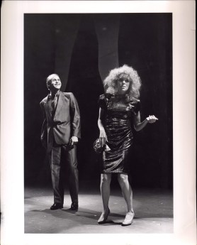 John Pappas and Deirdre O'Connell in ETTA JENKS (1987-88)