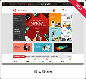 EtroStore - Electronics Store WooCommerce WordPress Theme