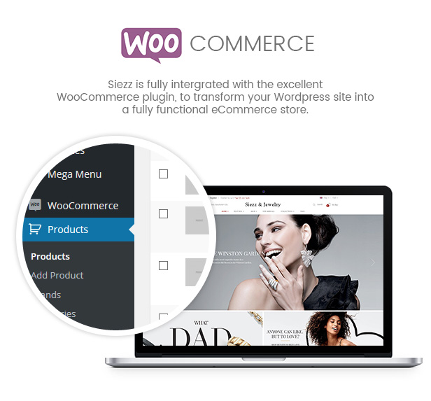 SW Siezz - WooCommerce Tema