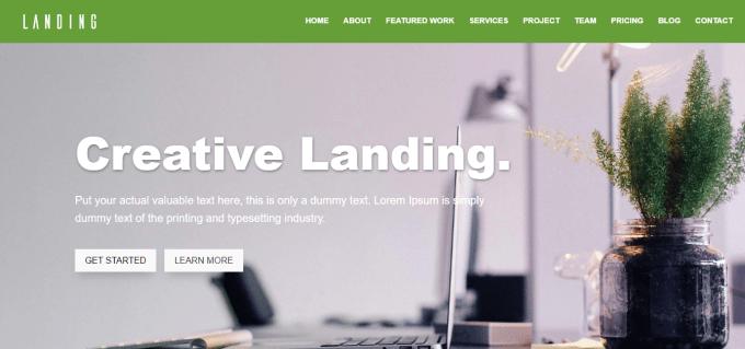 divi theme website