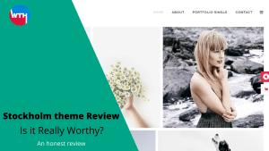Stockholm theme Review