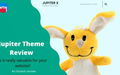 Jupiter WordPress theme Review