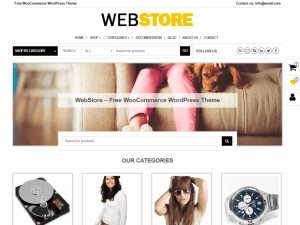 WebStore By Themes4WP