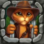 Indy Cat 2 Match 3 free game – jigsaw puzzles 1.1 APK