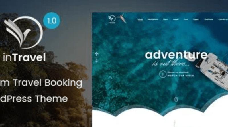 inTravel Travel Booking WordPress Theme