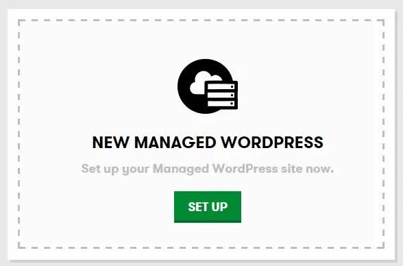 New Managed WordPress