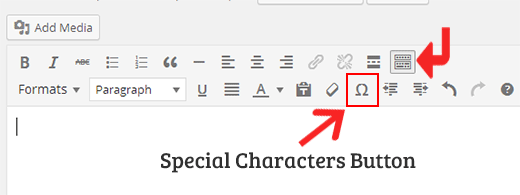 How to Add Special Characters in WordPress Posts