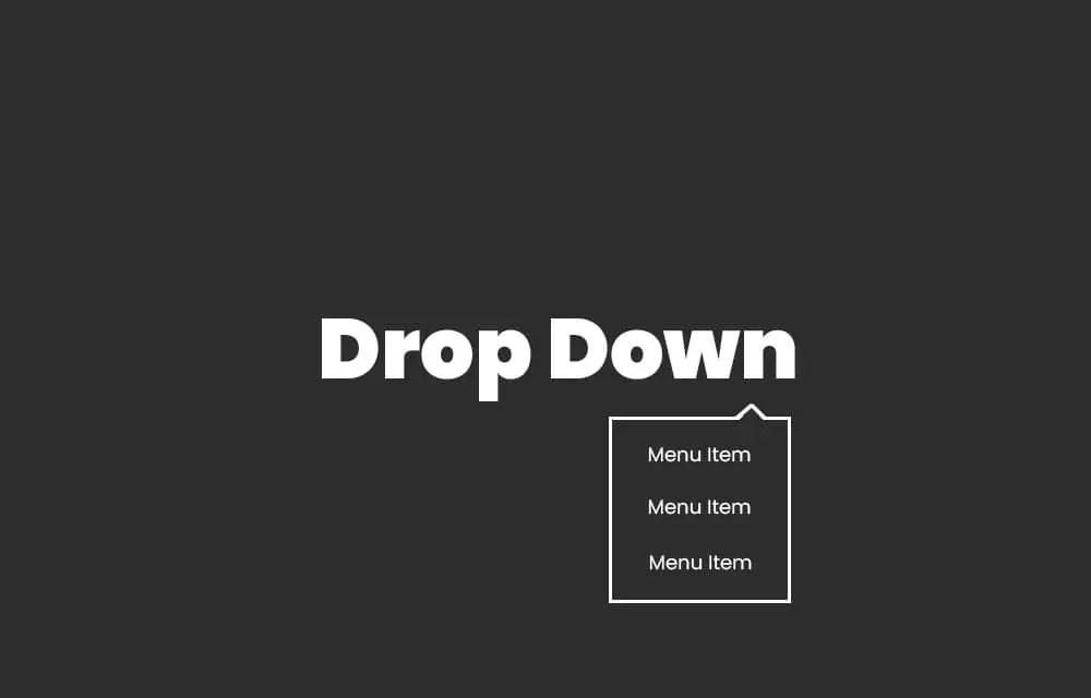 Make a Drop-Down Menu in WordPress