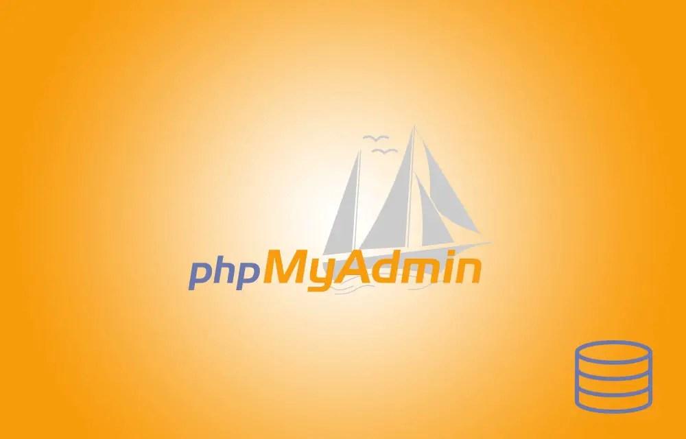 Create a Database using phpMyAdmin