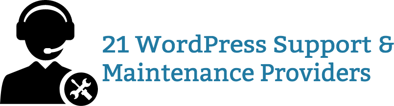 21 WordPress Support & Maintenance Providers