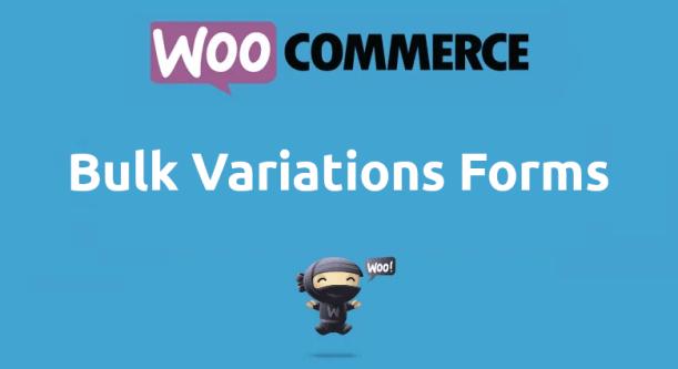 Woocommerce Bulk Variations Forms