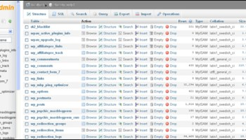 All WordPress data is stored in a MySQL Database