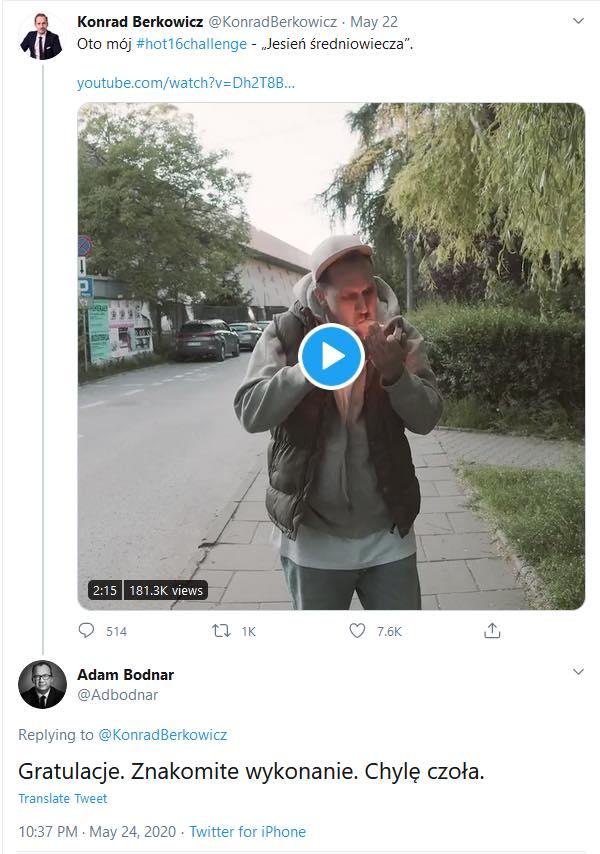 """""""To skandal!"""" – Bodnar gratuluje faszystowskiej piosenki. """"Socjaliści muszą wisieć zamiast liści"""""""