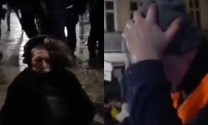 """Szokujące nagranie z Wrocławia. Tłum krzyczy do policji """"Mordercy, zabili go!"""""""