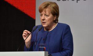 Merkel chce wWaszyngtonie rozwiązać spór oNord Stream 2