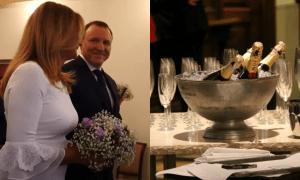 Rocznica ślubu Kurskiego. Luksusowy hotel i faktura na TVP