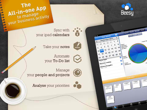 Be A Busy Bee With iPad To-Do And Project Management App Beesy