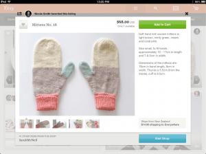 Etsy for iPad