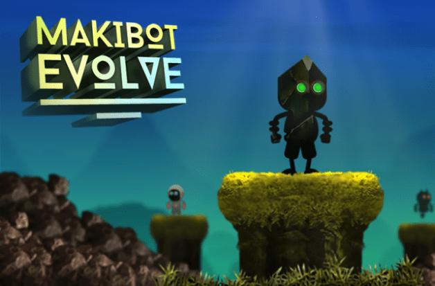 Jump through an unpredictable world in Makibot Evolve