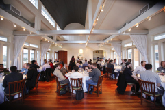 Networking dinners at the WordPress.com VIP Workshop.