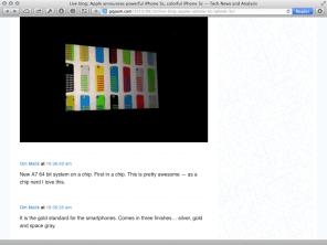 GigaOm iPhone Liveblog