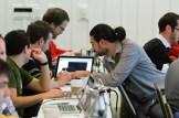 Students at the WordPress.com VIP Workshop.