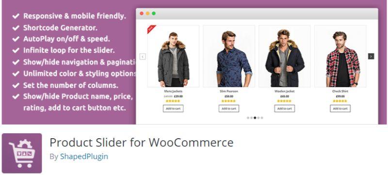 Product Slider for WooCommerce