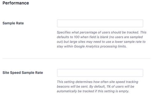 MonsterInsights - Google Analytics Performance Addon