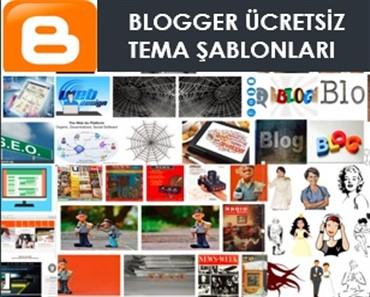 Ücretsiz Blogger Temaları