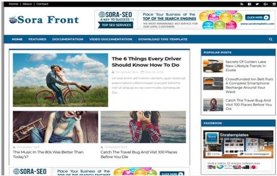 Blog ve dergi teması
