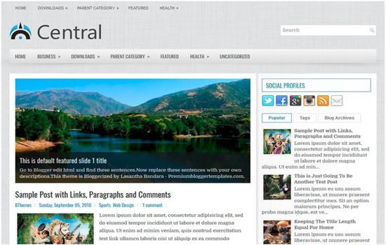 Moda, kadın, yaşam, seyahat, kişisel blog teması.