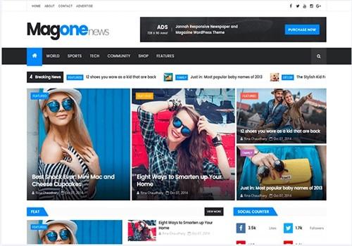 Magonenews Blogger Teması