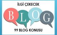 blog konusu
